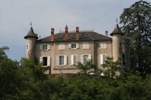 Vue sur le Château de Saint Ambroise.